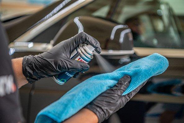 Autopflege und Aufbereitung